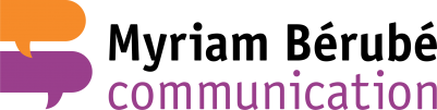 Myriam Bérubé Communication Logo